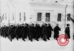 Image of outdoor church service Siberia, 1918, second 13 stock footage video 65675072599