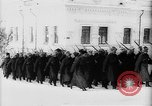Image of outdoor church service Siberia, 1918, second 15 stock footage video 65675072599