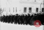 Image of outdoor church service Siberia, 1918, second 16 stock footage video 65675072599