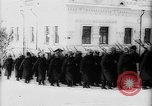 Image of outdoor church service Siberia, 1918, second 18 stock footage video 65675072599