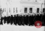 Image of outdoor church service Siberia, 1918, second 19 stock footage video 65675072599