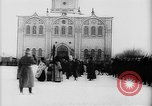 Image of outdoor church service Siberia, 1918, second 35 stock footage video 65675072599