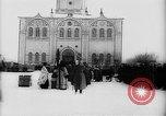 Image of outdoor church service Siberia, 1918, second 39 stock footage video 65675072599