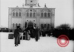 Image of outdoor church service Siberia, 1918, second 41 stock footage video 65675072599