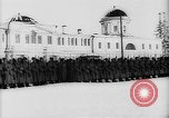 Image of outdoor church service Siberia, 1918, second 43 stock footage video 65675072599