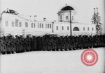 Image of outdoor church service Siberia, 1918, second 44 stock footage video 65675072599