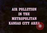 Image of air pollution Kansas United States USA, 1967, second 18 stock footage video 65675072631