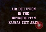 Image of air pollution Kansas United States USA, 1967, second 19 stock footage video 65675072631
