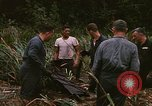 Image of recovery of LB-7 aircraft debris Bluefields Nicaragua, 1969, second 20 stock footage video 65675072642
