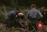 Image of recovery of LB-7 aircraft debris Bluefields Nicaragua, 1969, second 26 stock footage video 65675072642