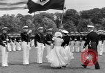 Image of final dress parade Annapolis Maryland USA, 1938, second 15 stock footage video 65675072645