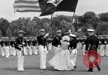 Image of final dress parade Annapolis Maryland USA, 1938, second 16 stock footage video 65675072645