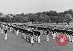 Image of final dress parade Annapolis Maryland USA, 1938, second 24 stock footage video 65675072645
