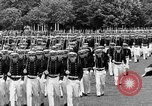 Image of final dress parade Annapolis Maryland USA, 1938, second 32 stock footage video 65675072645