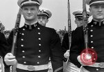 Image of final dress parade Annapolis Maryland USA, 1938, second 37 stock footage video 65675072645