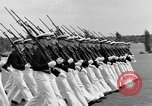 Image of final dress parade Annapolis Maryland USA, 1938, second 39 stock footage video 65675072645