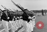 Image of final dress parade Annapolis Maryland USA, 1938, second 40 stock footage video 65675072645