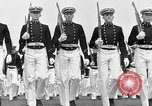 Image of final dress parade Annapolis Maryland USA, 1938, second 42 stock footage video 65675072645