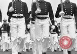 Image of final dress parade Annapolis Maryland USA, 1938, second 43 stock footage video 65675072645