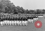 Image of final dress parade Annapolis Maryland USA, 1938, second 49 stock footage video 65675072645