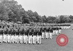 Image of final dress parade Annapolis Maryland USA, 1938, second 50 stock footage video 65675072645