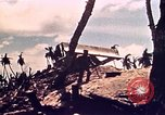 Image of Battle of Tarawa Tarawa Gilbert Islands, 1943, second 32 stock footage video 65675072666