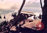 Image of Battle of Tarawa Tarawa Gilbert Islands, 1943, second 33 stock footage video 65675072666