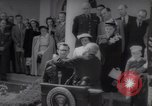 Image of President Harry S Truman presents Medals of Honor Washington DC USA, 1952, second 8 stock footage video 65675072673