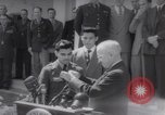 Image of President Harry S Truman presents Medals of Honor Washington DC USA, 1952, second 16 stock footage video 65675072673