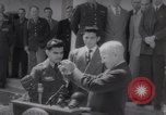 Image of President Harry S Truman presents Medals of Honor Washington DC USA, 1952, second 17 stock footage video 65675072673
