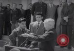 Image of President Harry S Truman presents Medals of Honor Washington DC USA, 1952, second 18 stock footage video 65675072673