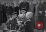 Image of President Harry S Truman presents Medals of Honor Washington DC USA, 1952, second 19 stock footage video 65675072673