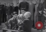 Image of President Harry S Truman presents Medals of Honor Washington DC USA, 1952, second 20 stock footage video 65675072673