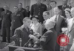 Image of President Harry S Truman presents Medals of Honor Washington DC USA, 1952, second 36 stock footage video 65675072673