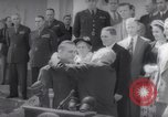Image of President Harry S Truman presents Medals of Honor Washington DC USA, 1952, second 40 stock footage video 65675072673