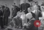 Image of President Harry S Truman presents Medals of Honor Washington DC USA, 1952, second 48 stock footage video 65675072673