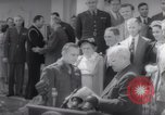 Image of President Harry S Truman presents Medals of Honor Washington DC USA, 1952, second 50 stock footage video 65675072673