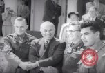 Image of President Harry S Truman presents Medals of Honor Washington DC USA, 1952, second 51 stock footage video 65675072673