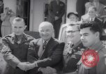 Image of President Harry S Truman presents Medals of Honor Washington DC USA, 1952, second 52 stock footage video 65675072673