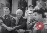 Image of President Harry S Truman presents Medals of Honor Washington DC USA, 1952, second 53 stock footage video 65675072673