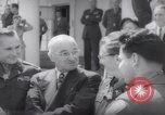 Image of President Harry S Truman presents Medals of Honor Washington DC USA, 1952, second 61 stock footage video 65675072673