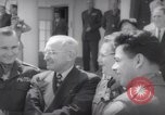 Image of President Harry S Truman presents Medals of Honor Washington DC USA, 1952, second 62 stock footage video 65675072673