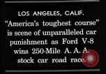 Image of Gilmore Stock Car Race Los Angeles California USA, 1934, second 3 stock footage video 65675072676