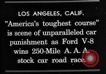 Image of Gilmore Stock Car Race Los Angeles California USA, 1934, second 4 stock footage video 65675072676