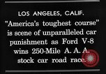 Image of Gilmore Stock Car Race Los Angeles California USA, 1934, second 6 stock footage video 65675072676