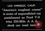 Image of Gilmore Stock Car Race Los Angeles California USA, 1934, second 12 stock footage video 65675072676
