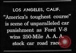 Image of Gilmore Stock Car Race Los Angeles California USA, 1934, second 14 stock footage video 65675072676