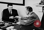 Image of secret services agent Washington DC USA, 1952, second 25 stock footage video 65675072689