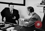 Image of secret services agent Washington DC USA, 1952, second 28 stock footage video 65675072689
