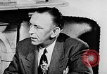 Image of secret services agent Washington DC USA, 1952, second 36 stock footage video 65675072689